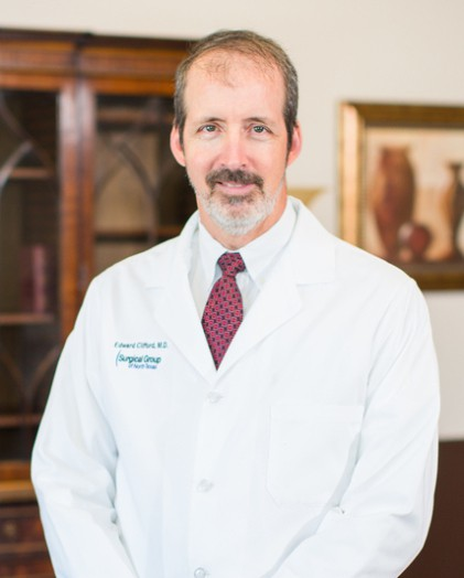 Dr. Edward Clifford was selected by his peers along with Dr. Sina Matin as outstanding practicing doctor in Texas.