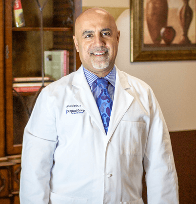 Dr. Sina Matin was selected by his peers as outstanding practicing doctor in Texas.